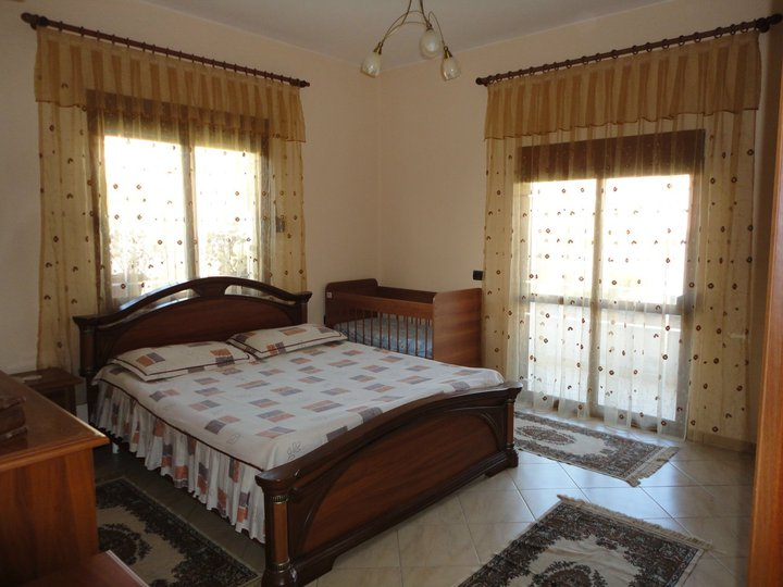 Apartment for rent in Tirana, Albania, with two bedrooms.